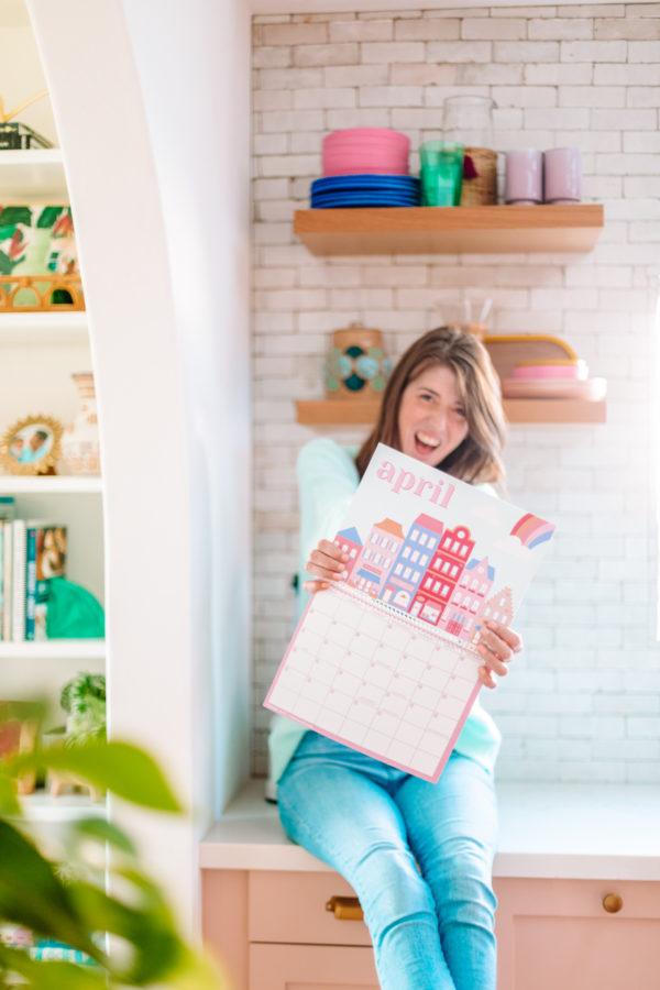 Free Printable 2020 Wall Calendar
