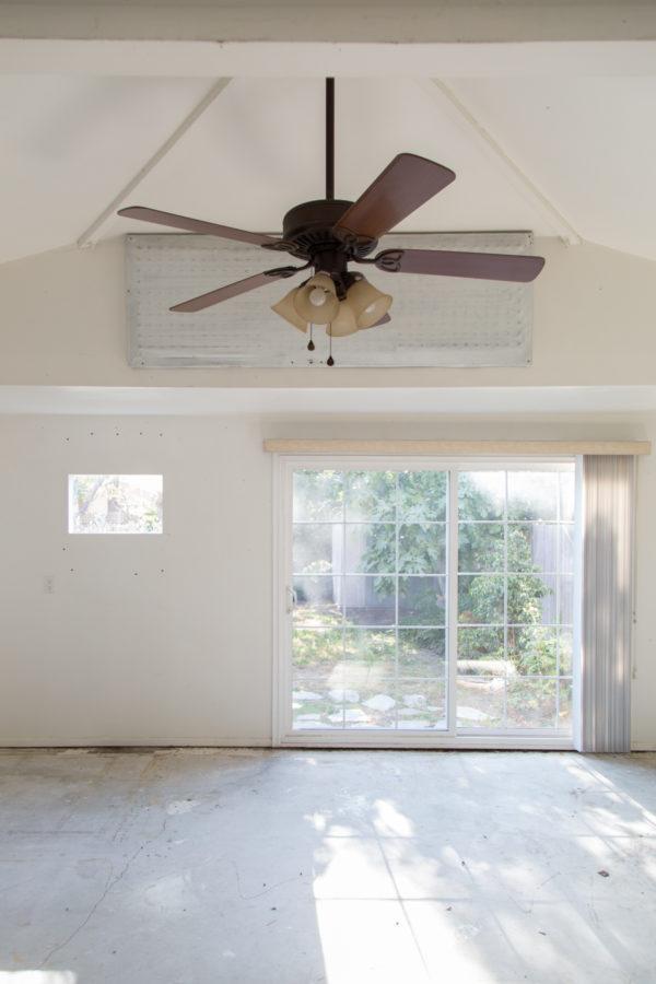 Garage to Playroom Conversion