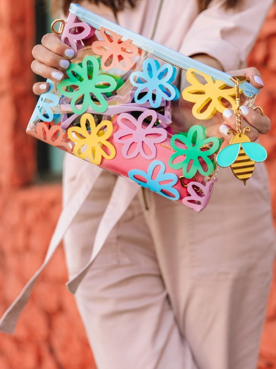 Can't Clutch This: Flower Power Clutch