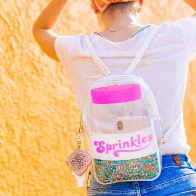 Now Available: Sprinkle Jar Backpack!!