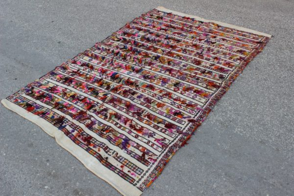 multicolor turkish kilim rug