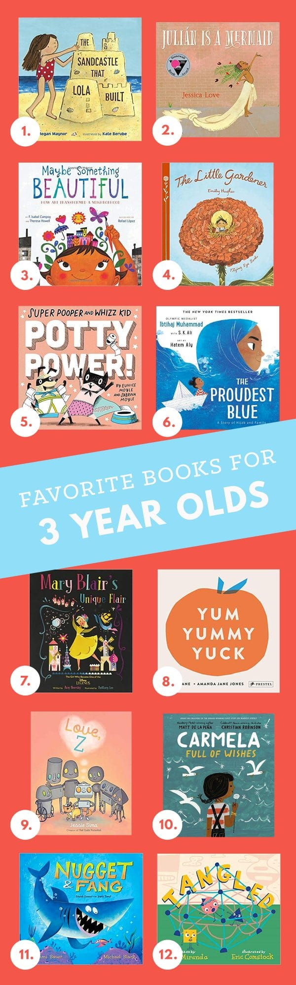 Best Books for Three Year Olds