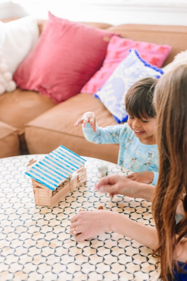 DIY Popsicle Stick Ice Cream Shop