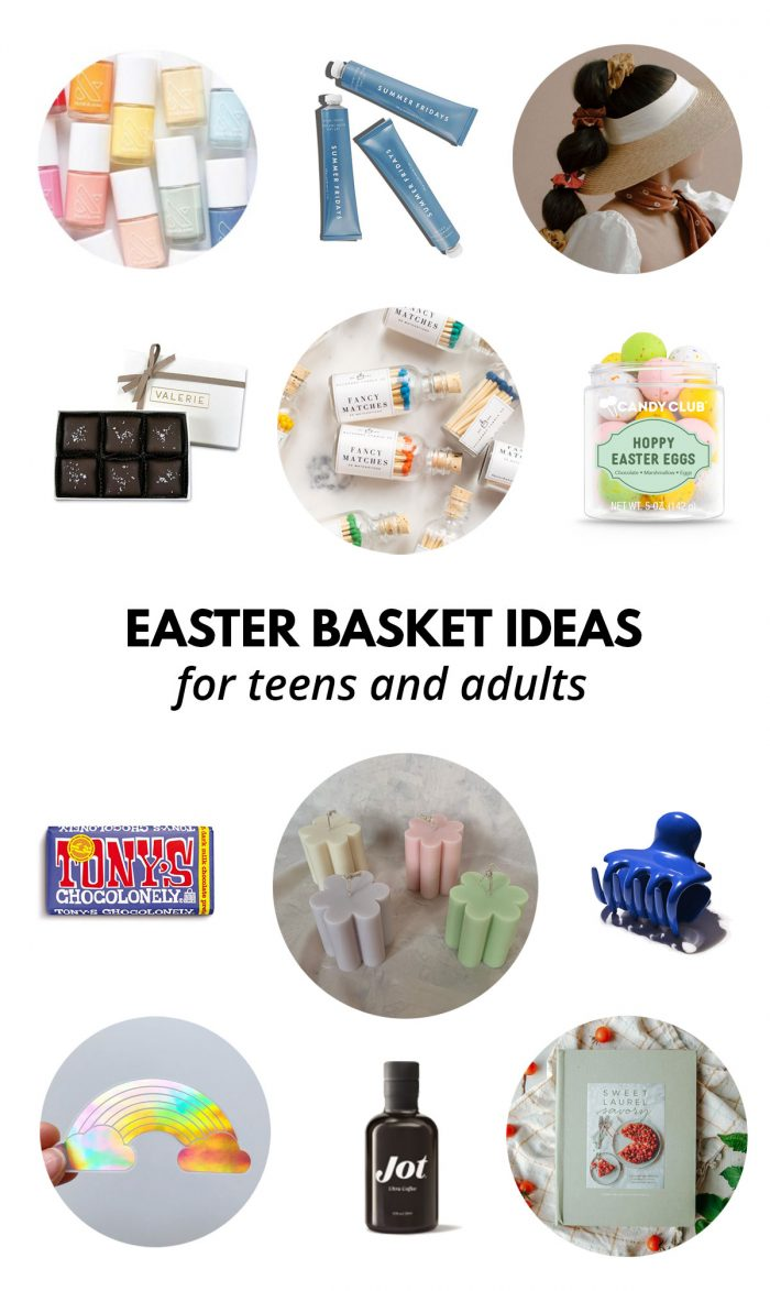 Easter Basket Ideas for Teens & Adults