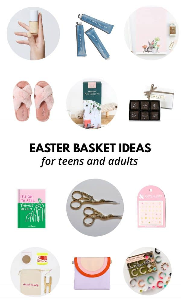 Easter Basket Ideas for Teens and Adults