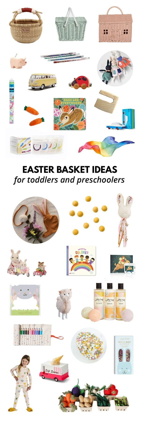 Easter Basket Ideas for Toddlers and Kids
