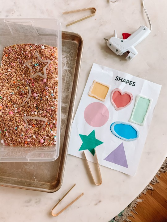 Toddler Camp: Shapes Day (Themed Activities and Crafts)