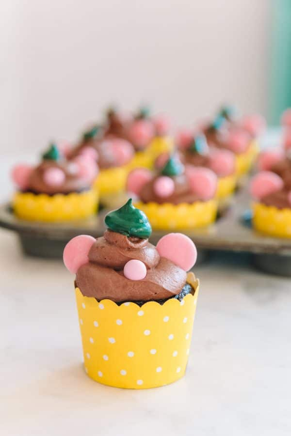 How to Make Gus Gus Cupcakes