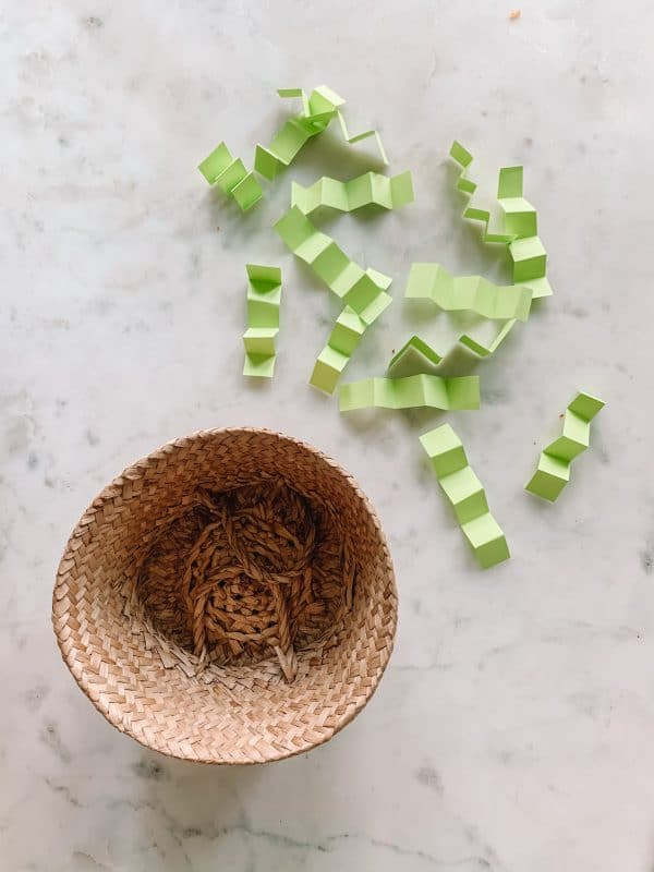 Easy Toddler Caterpillar Craft