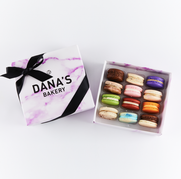 Food Gifts to Mail - Danas Bakery Macarons