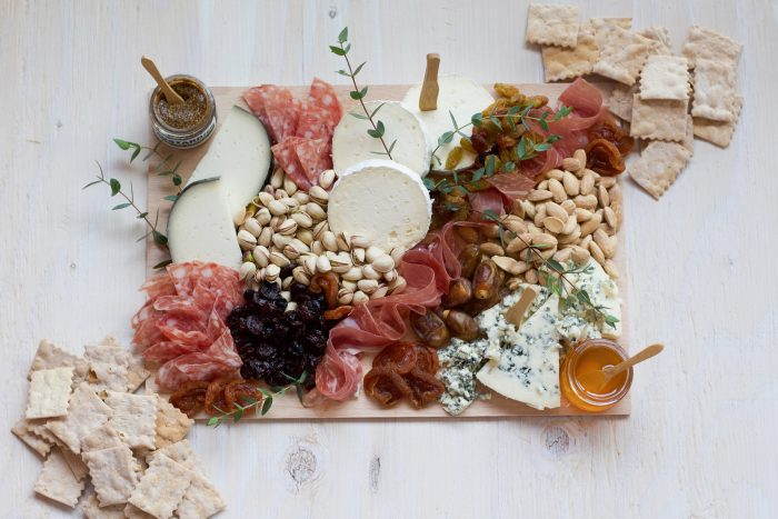 Food Gifts to Mail - Lady and Larder Cheese Board