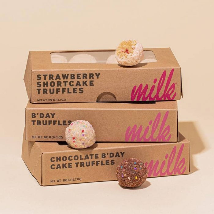 Food Gifts to Mail - Milkbar Cake Truffles