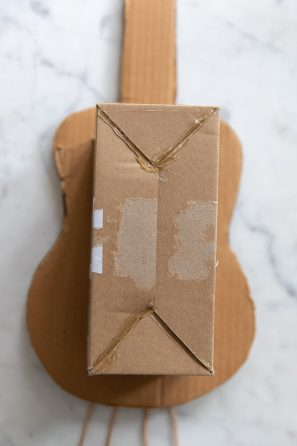 How To Make A Cardboard Guitar