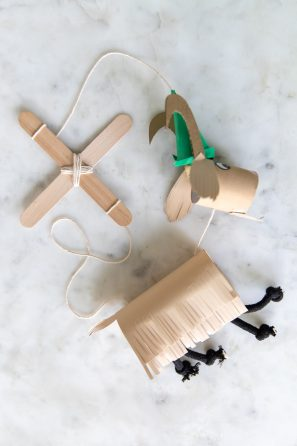 The Sound of Music Crafts for Kids - DIY Marionettes