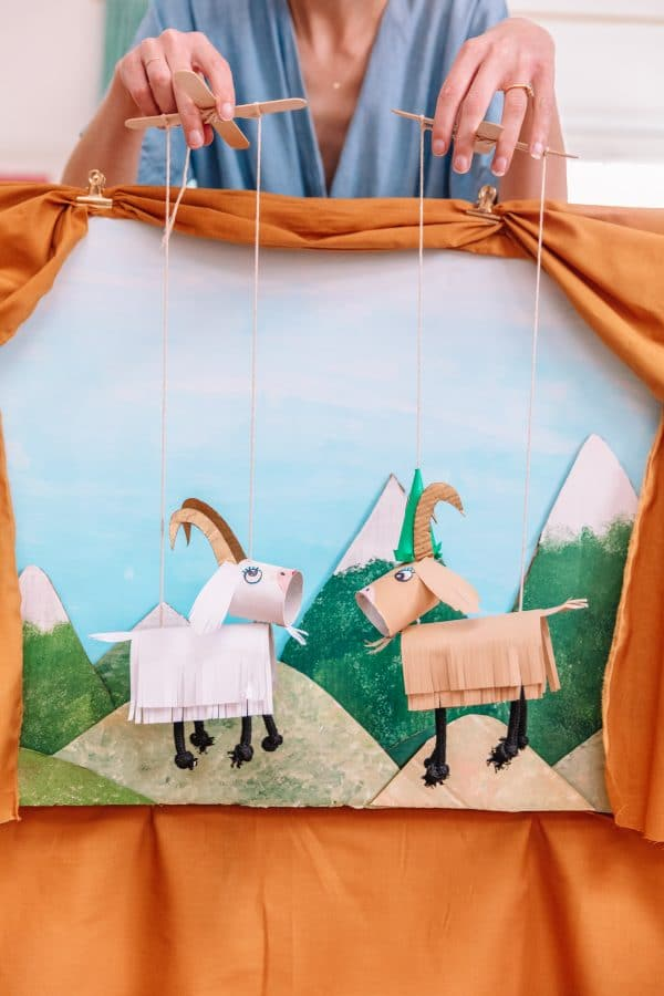 DIY Marionette Theater from The Sound of Music Crafts