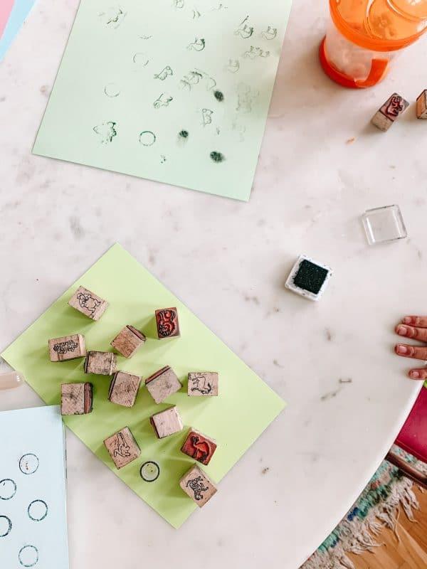 Toddler Stamp Activities