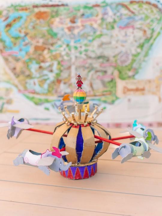 How To Make A Cardboard Dumbo Ride