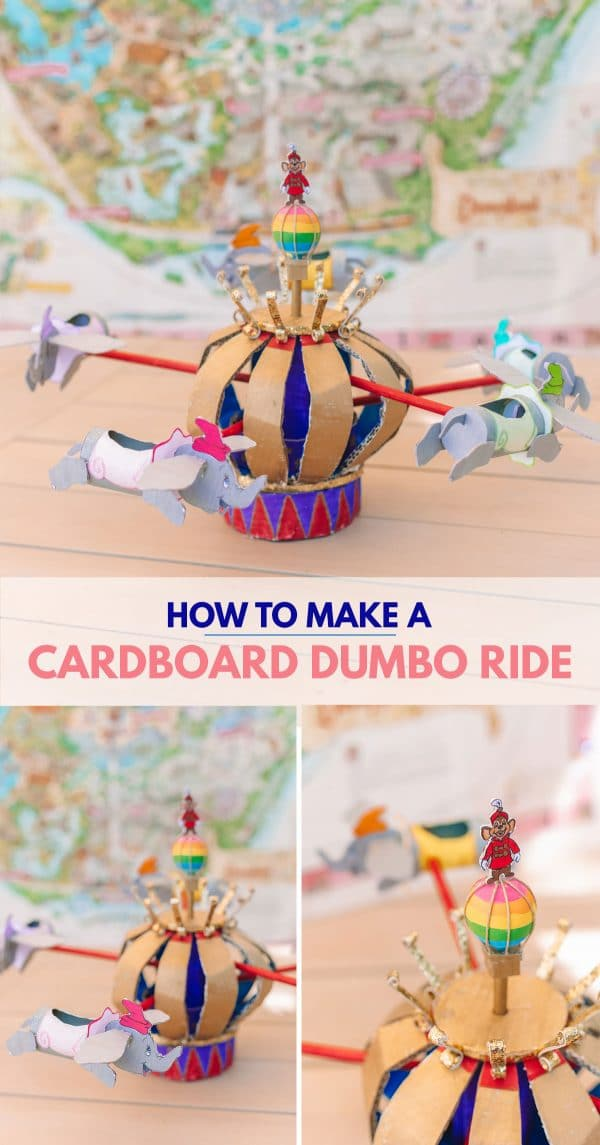 How To Make A Cardboard Dumbo Ride (From Disneyland!)
