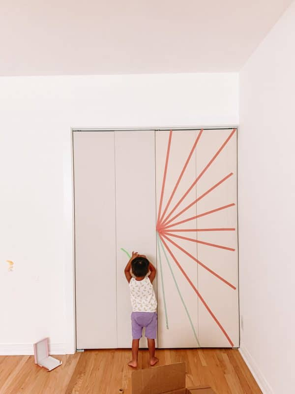 How To Make Sunburst Closet Doors