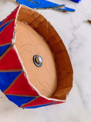 How To Make a Cardboard Disneyland Dumbo Ride