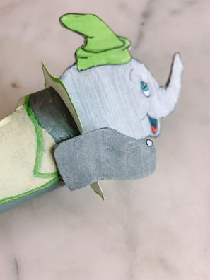How To Make a Cardboard Disneyland Dumbo Ride