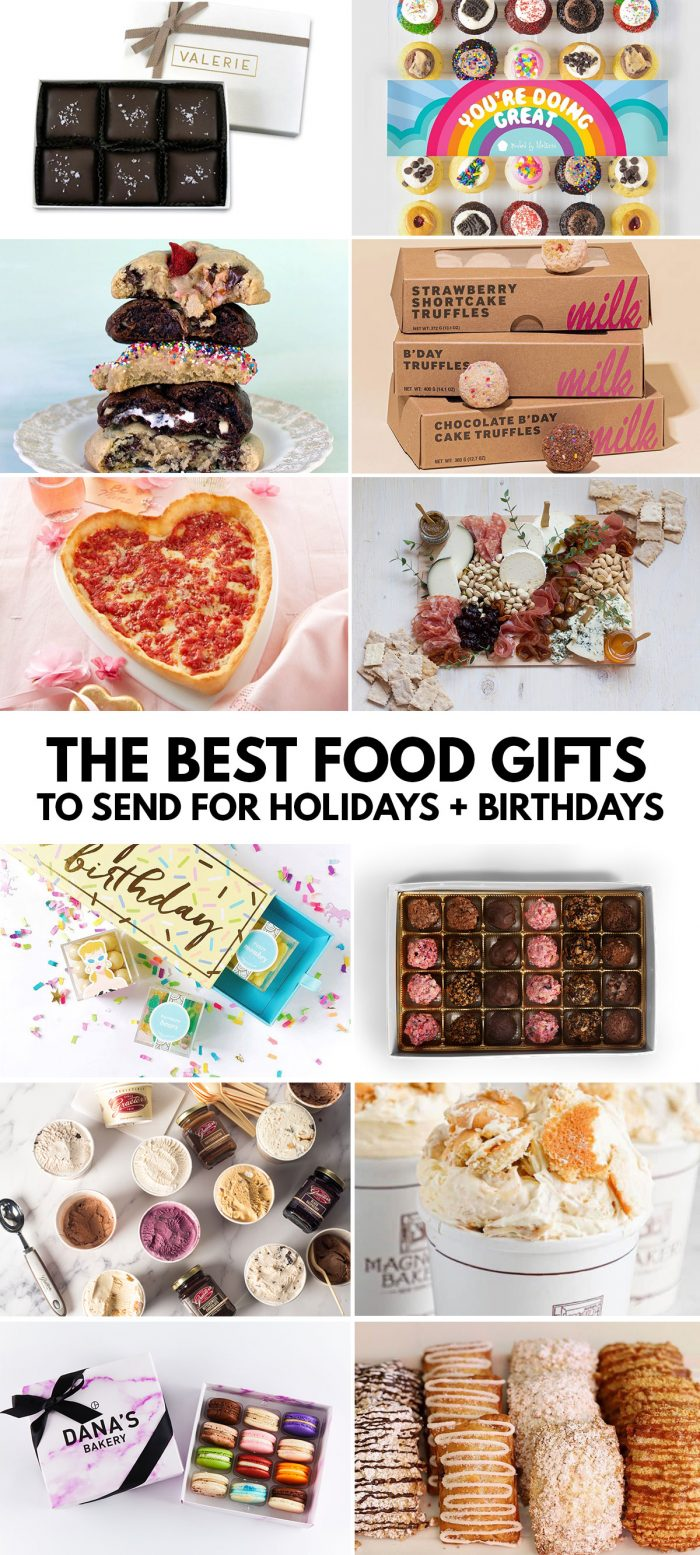 The Best Food Gifts to Send for Birthdays and Holidays