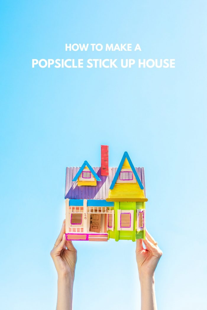 How To Make A Popsicle Stick Up House