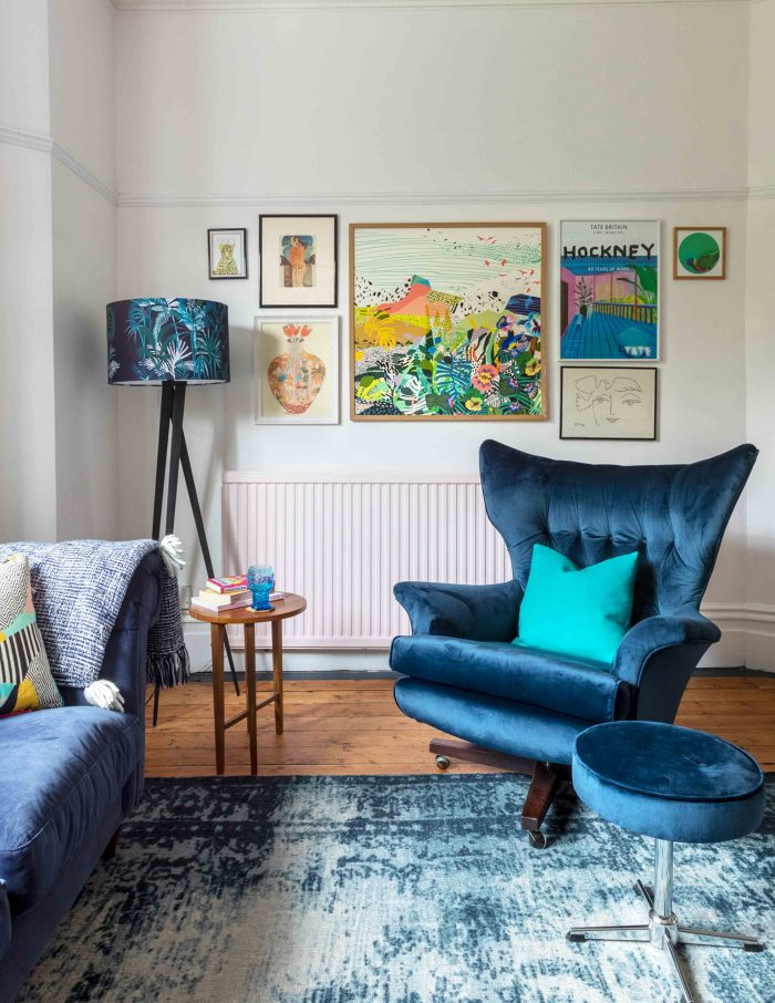 Choosing a Gallery Wall Color Palette
