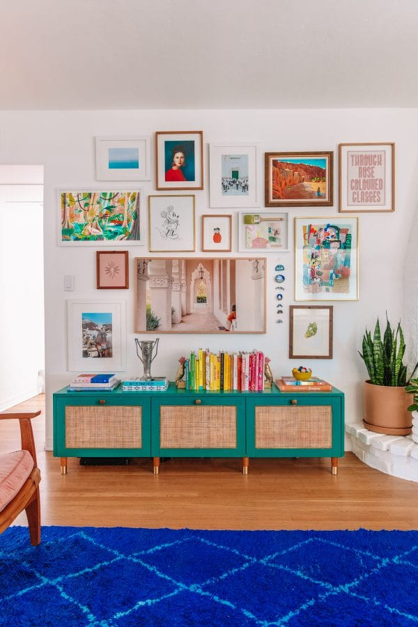 How To Layout A Gallery Wall