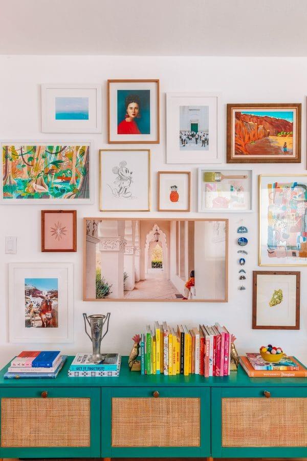 3D Objects in Gallery Walls