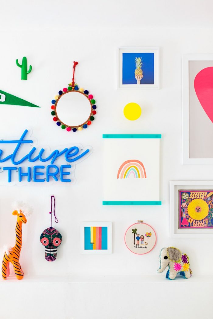 Gallery Walls for Kids Rooms