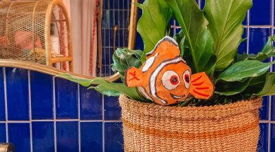 How To Make a Paper Mache Finding Nemo Fish
