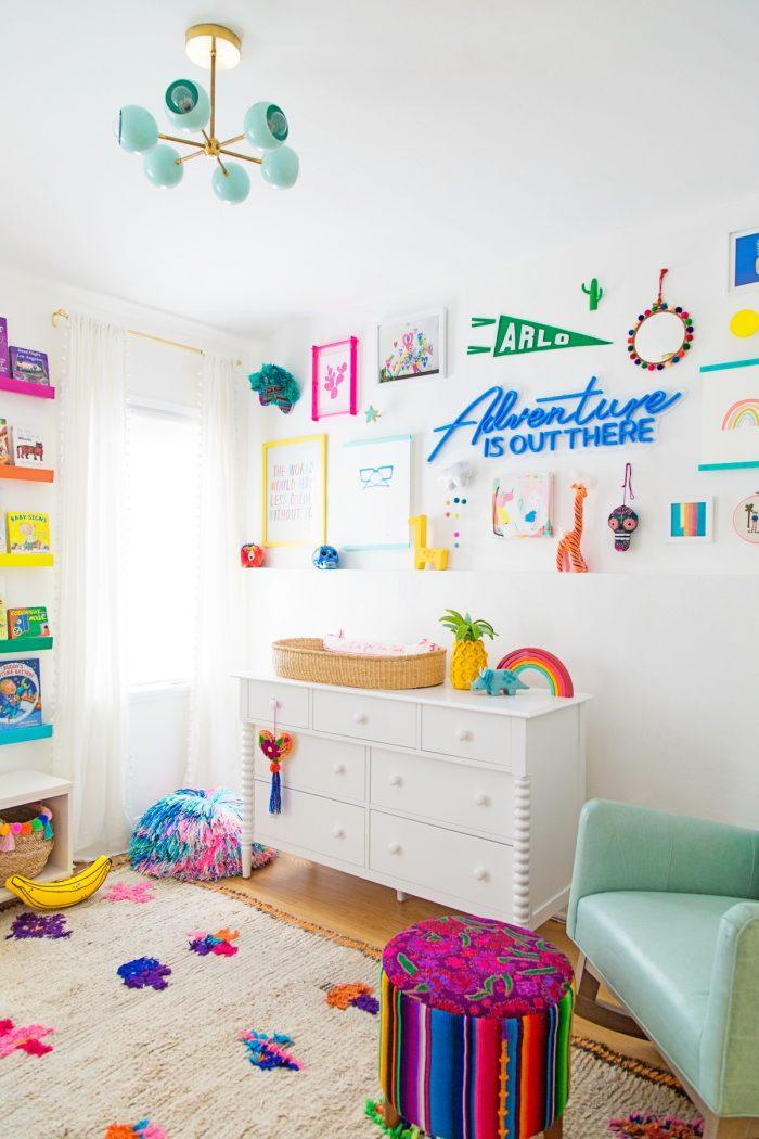 Kids Gallery Wall Ideas