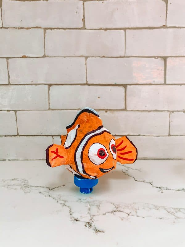 How To Make a Paper Maché Finding Nemo