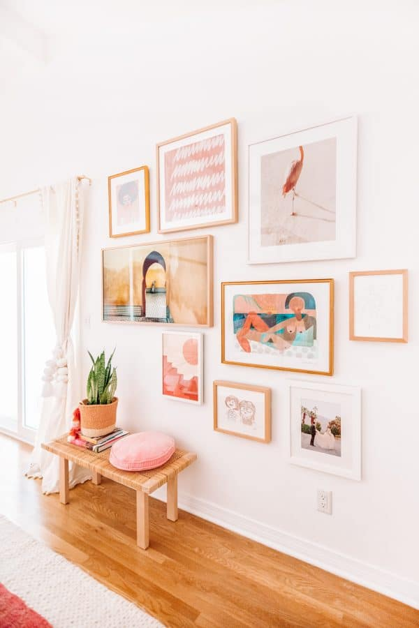 Tips for Laying Out A Gallery Wall
