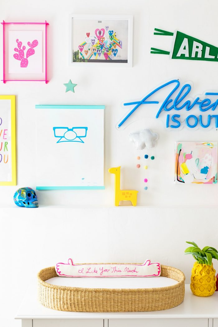 Tips for Renters for Hanging Gallery Walls without Nails
