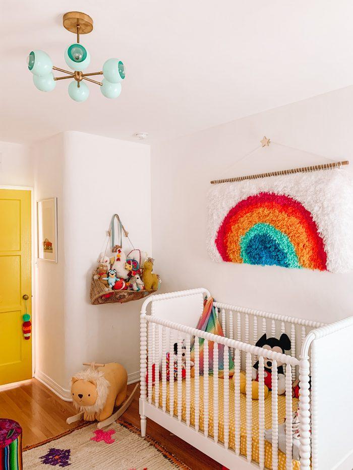 Colorful Rainbow Nursery