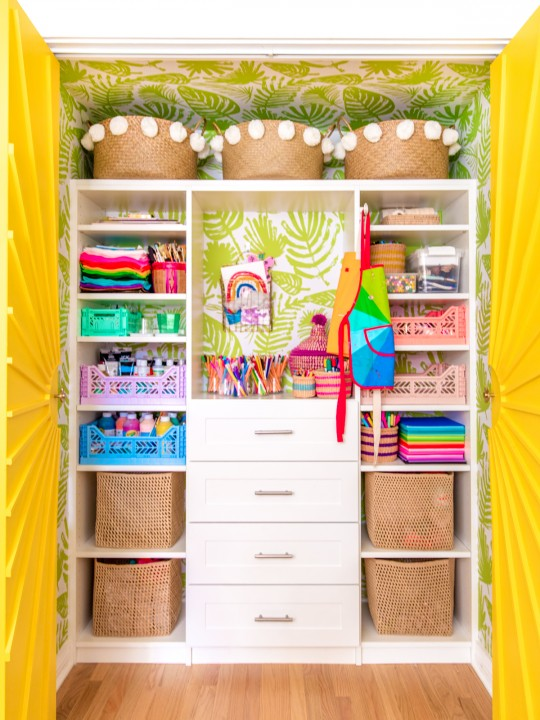 My Favorite Kids Craft Supplies (+ What's In Our Craft Closet!)