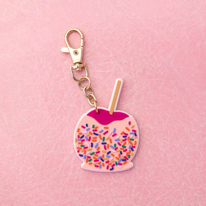 Candy Apple Keychain