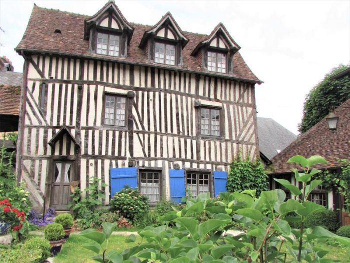 Half Timbered Home in Pont Audemer France