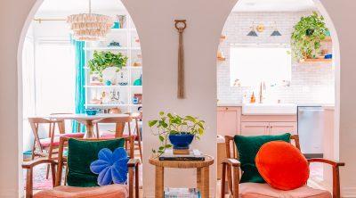 Colorful California Living Room