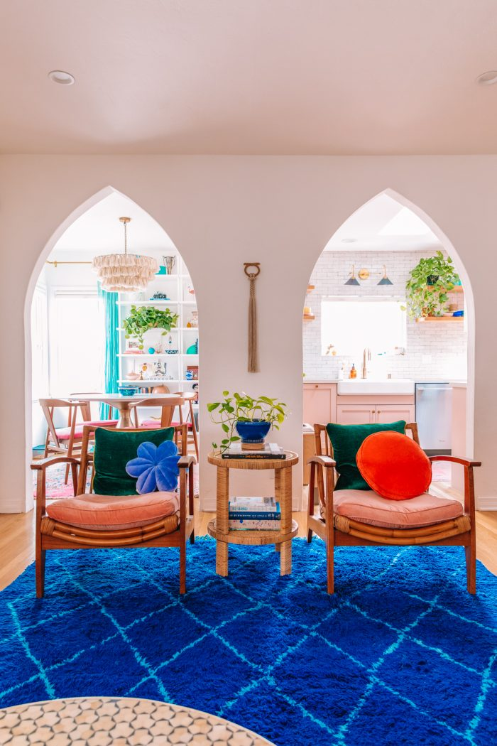 Colorful California Living Room