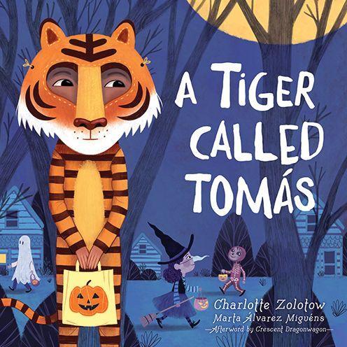 A Tiger Called Tomas book cover