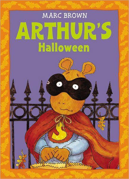 Arthur's Halloween book cover