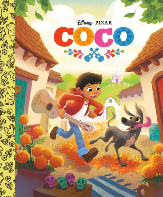 Coco Little Golden Book cover