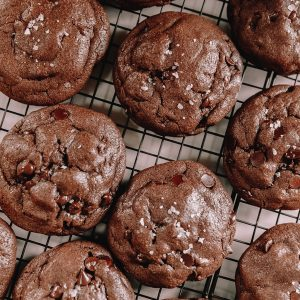Double Chocolate Chip Cookie Recipe from Milkjar Cookies