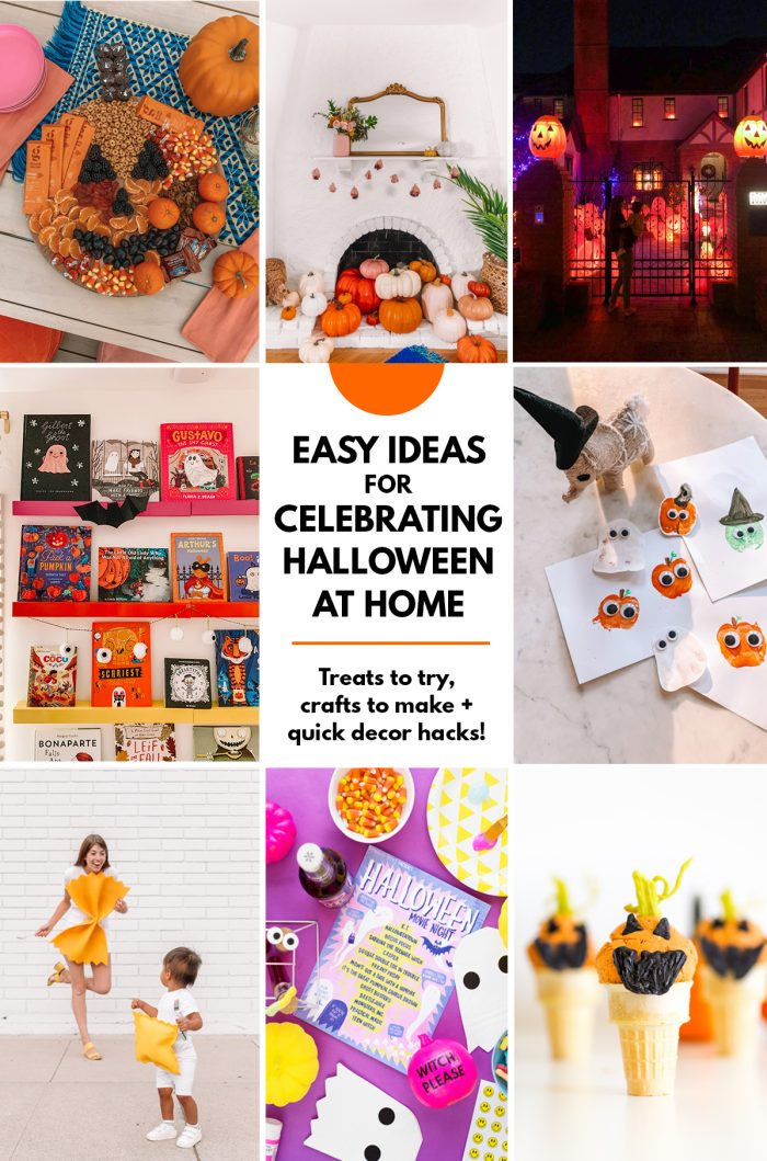 Easy Ideas for At Home Halloween Celebrations