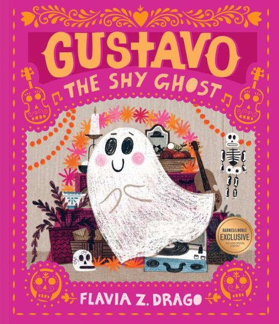 Gustavo the Shy Ghost book cover