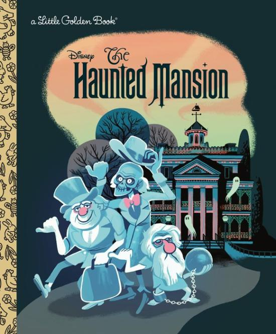 The Haunted Mansion book cover