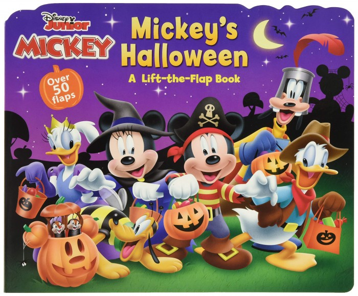 MIckey's Halloween book cover